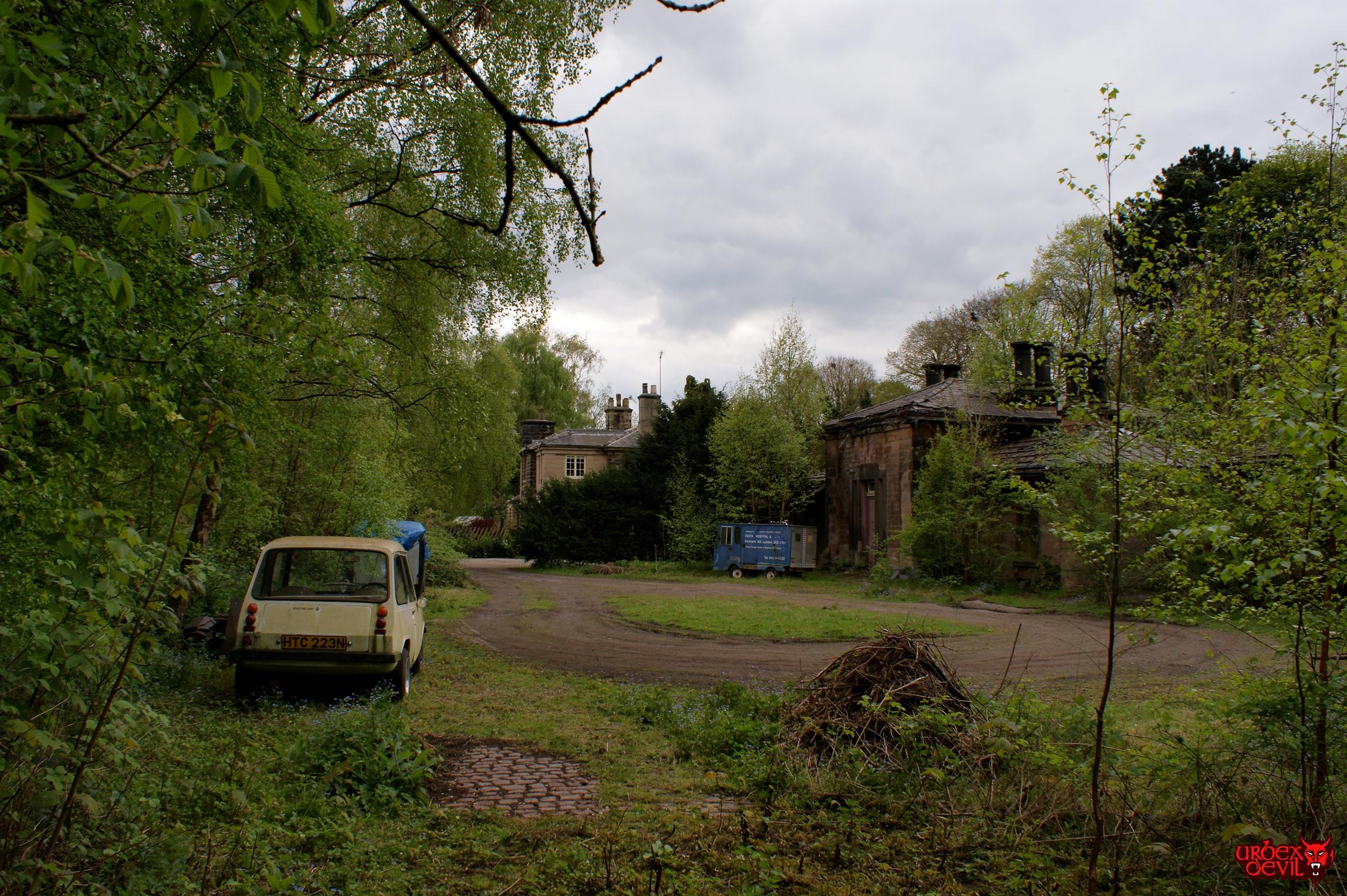 Wingfield Railway Station Urbex Devil