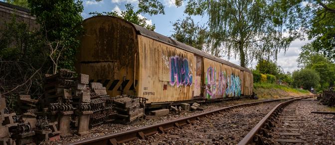 Tenterden Train Graveyard